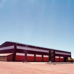 Megadoor_0004_VL 3116 Anglo American, Kumba Iron Ore, Sishen Mine, Heavy Mining Equipment Maintenance Complex6 12-13du