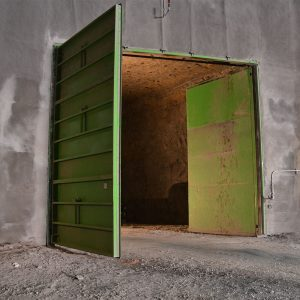 Ventilation Mine Door