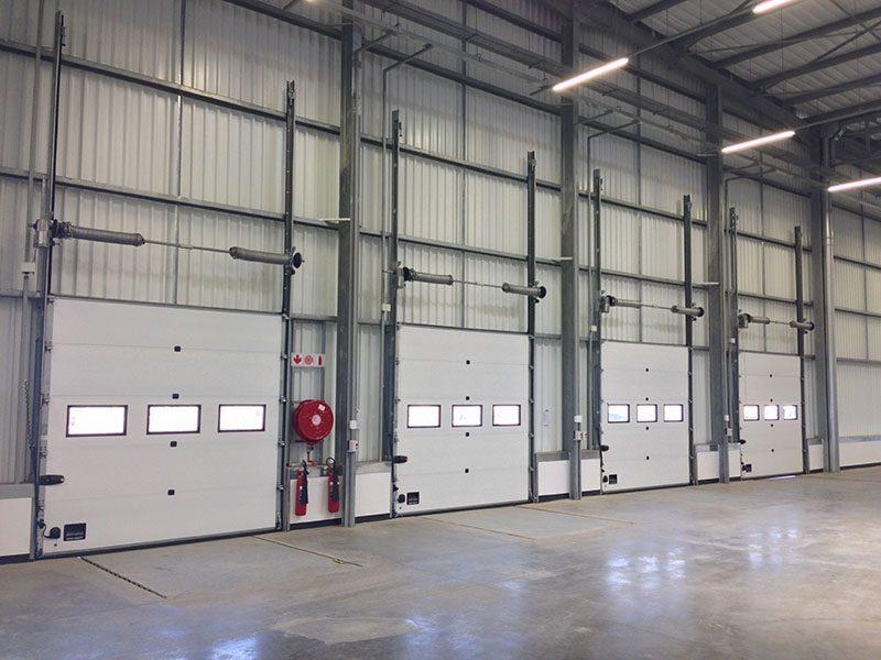 Interior sectional doors