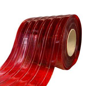 Transparant Red PVC